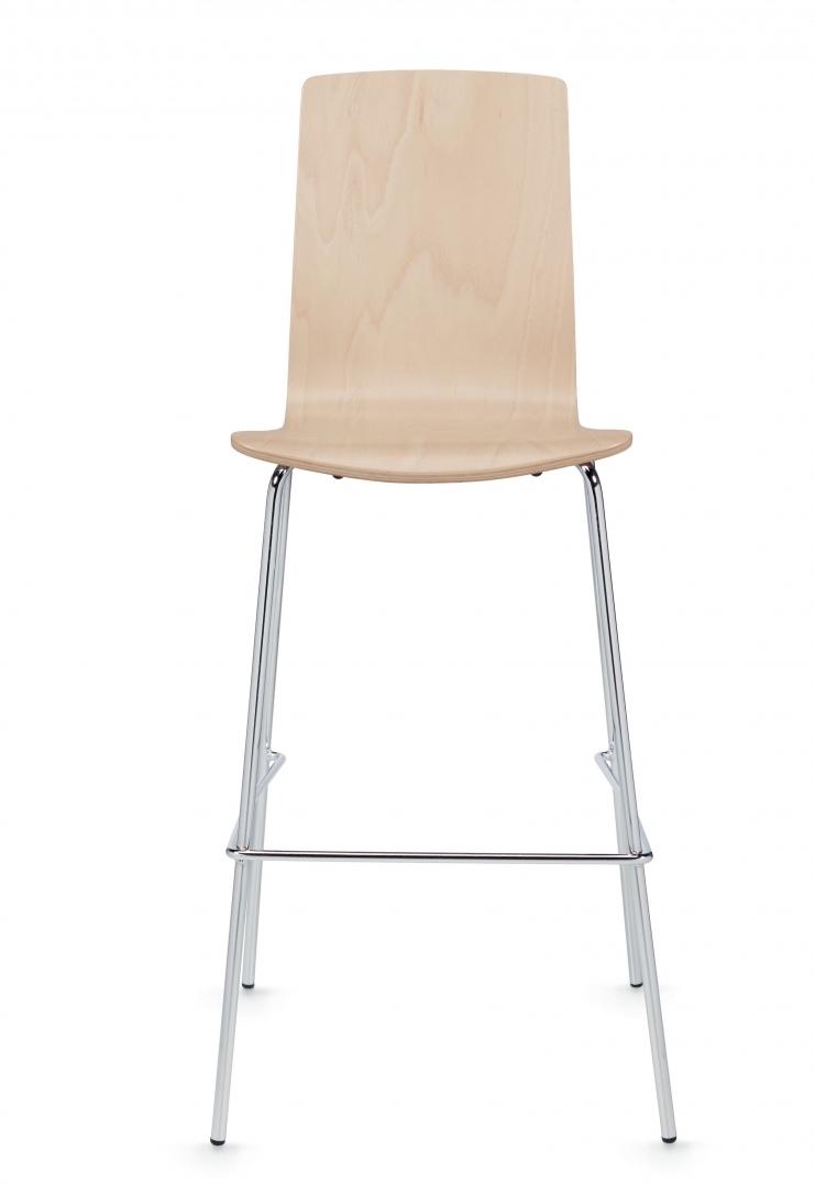 global sas wood bar stool