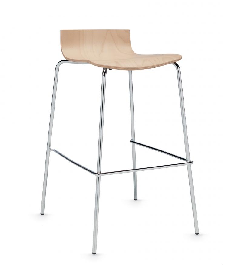 sas low back bar stool