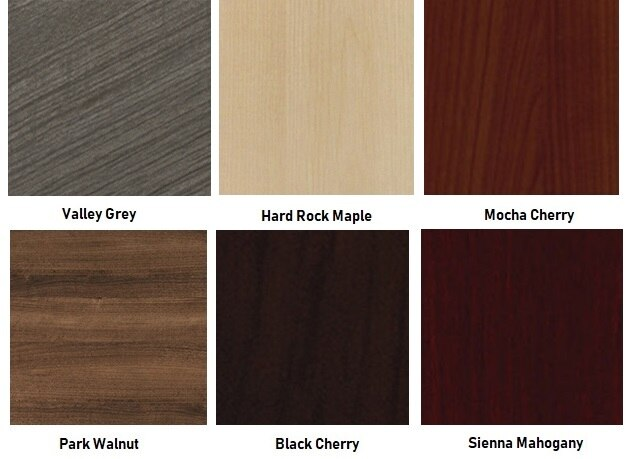 cherryman amber laminate finish swatches