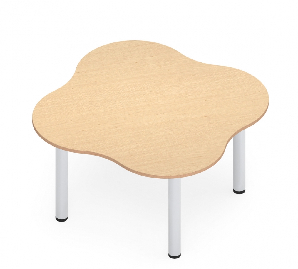 """zook 59"""" x 59"""" 4 person cluster table"""