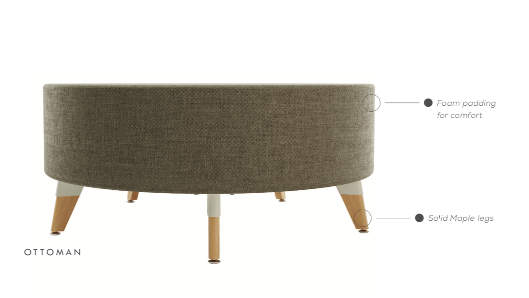 safco resi ottoman features