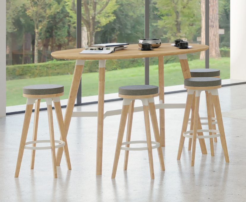 safco resi standing height table