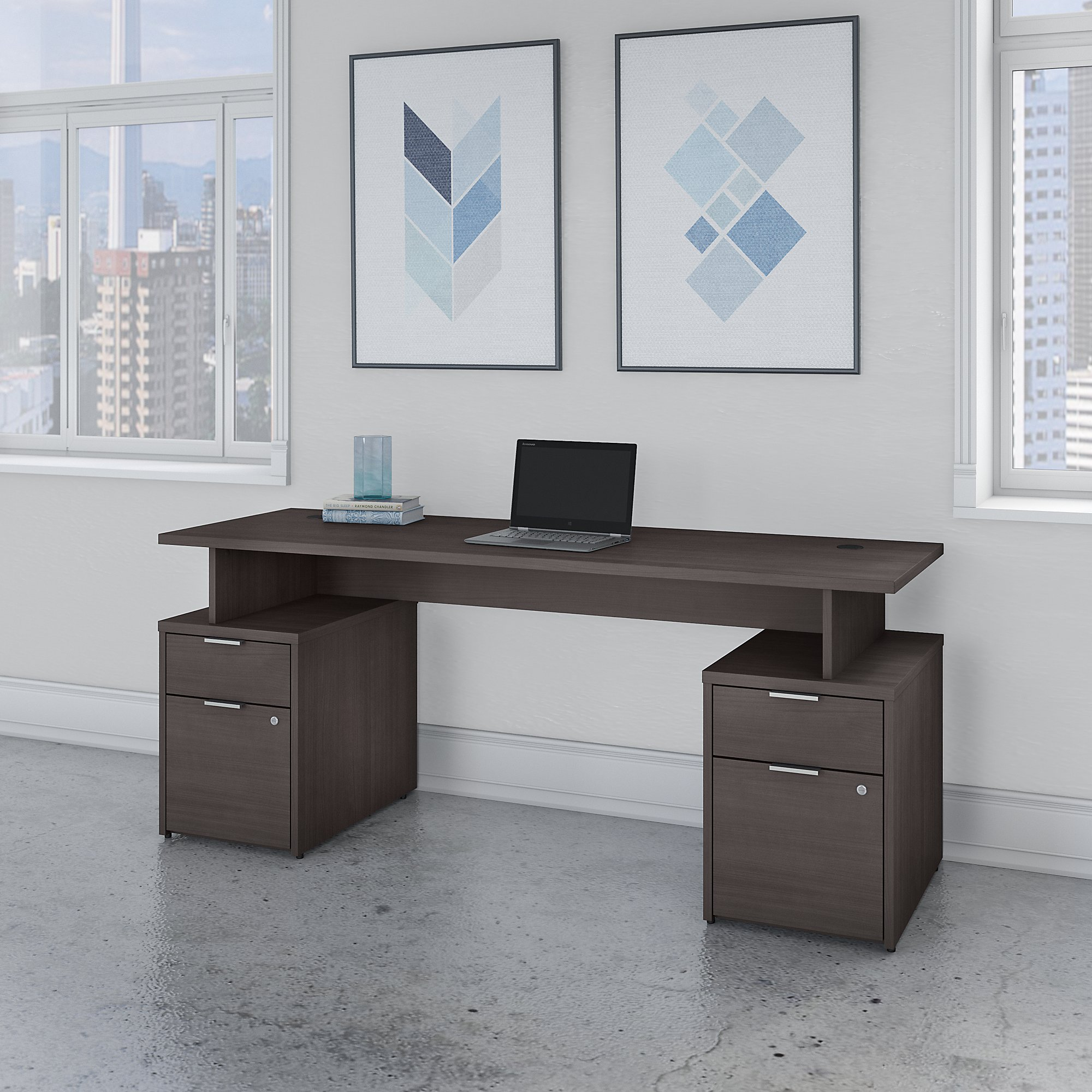 jtn005 storm gray jamestown desk