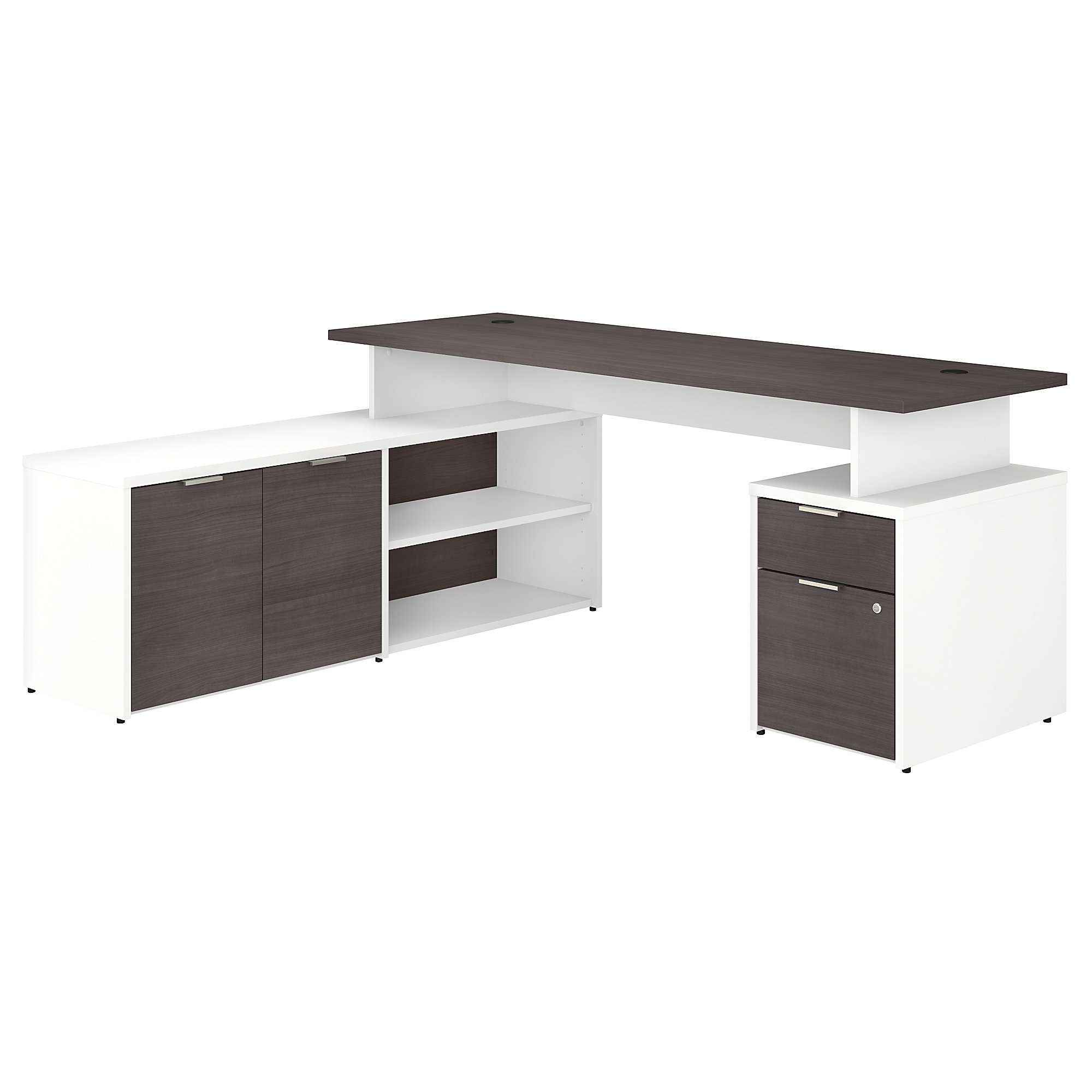 jtn009 gray and white jamestown desk