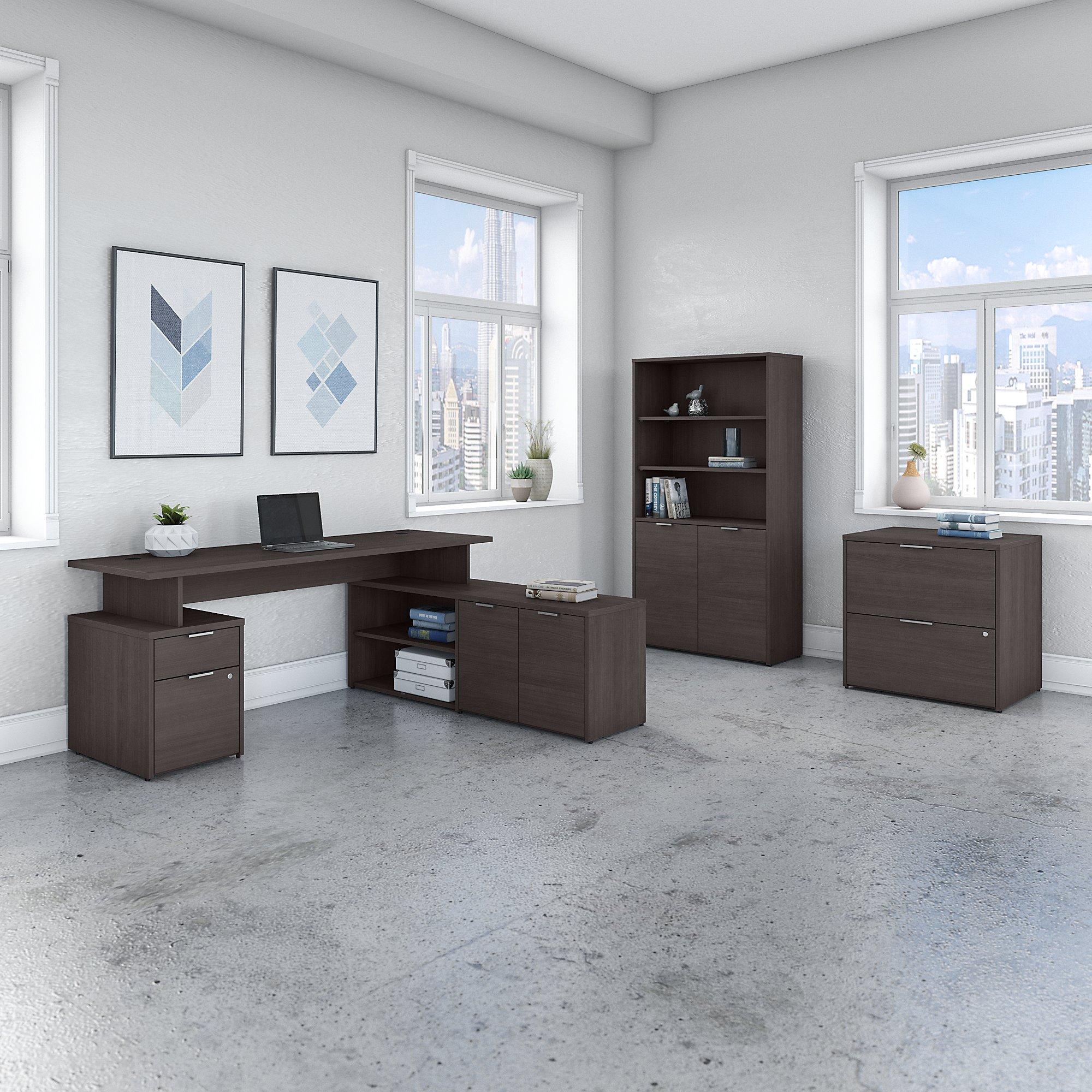 model jtn011 jamestown gray l desk set