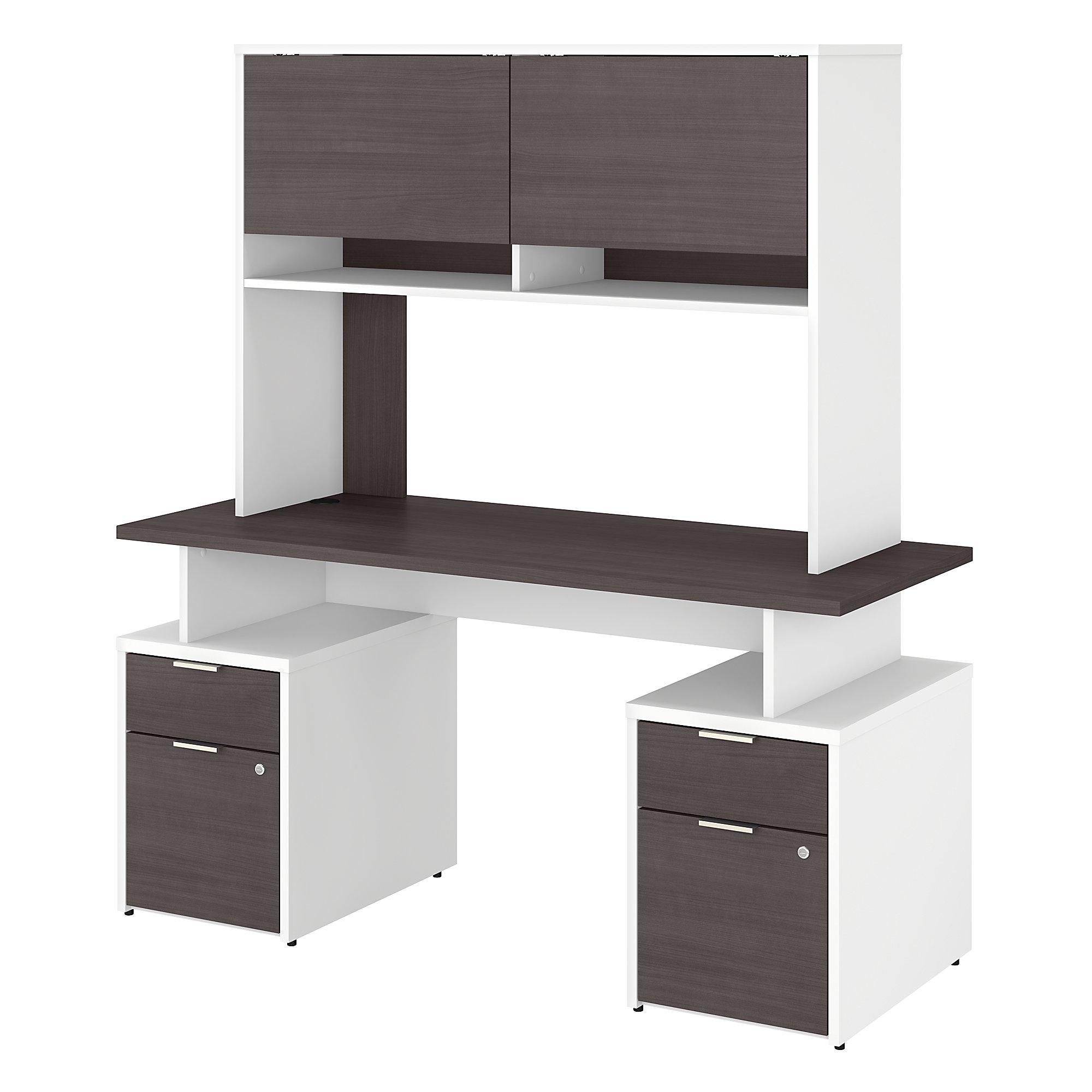 jamestown jtn018 storm gray and white desk