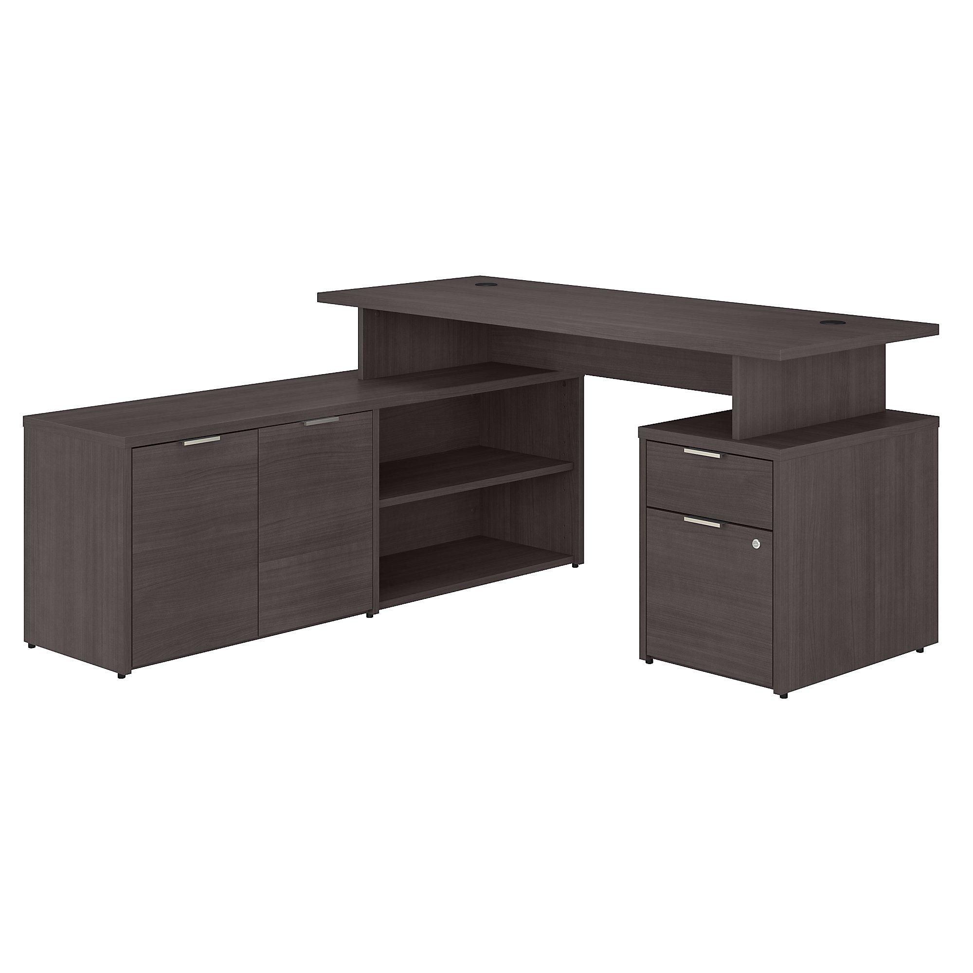 jtn021 jamestown l-desk in storm gray