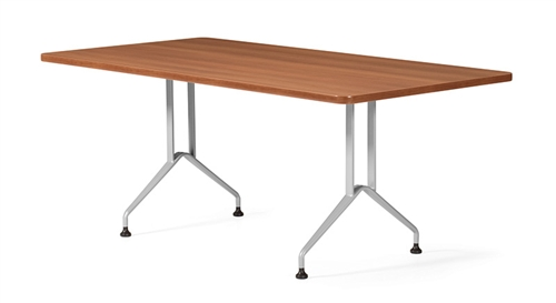 Global Alba 6' Rectangular Conference Table GR6STM