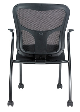 Eurotech Seating Flip Series Nesting Chair with Arms (2 Pack!)
