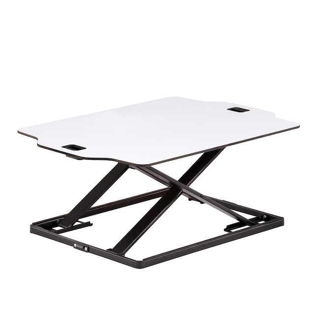 safco accent desktop sit stand workstation