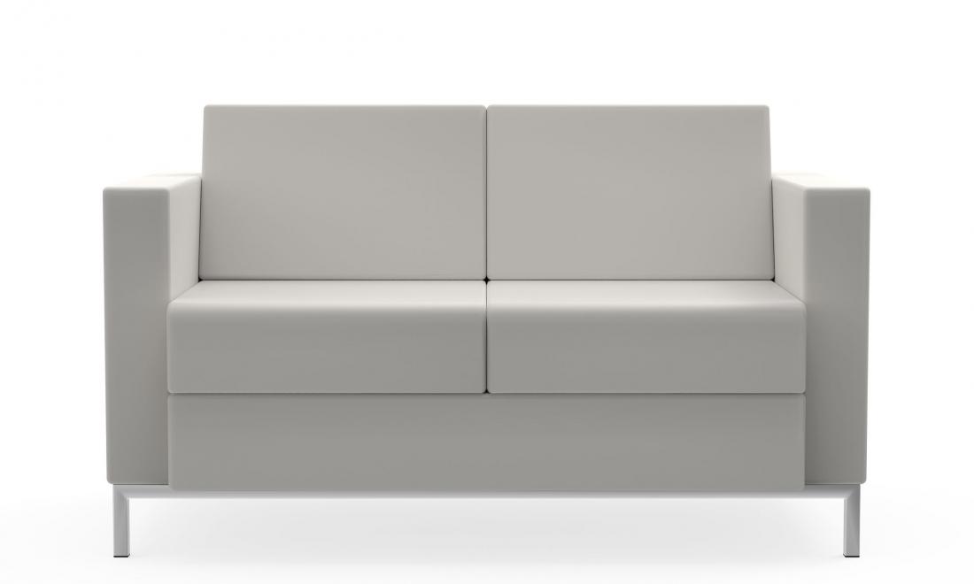 s7876 citi square leather 2 seat sofa