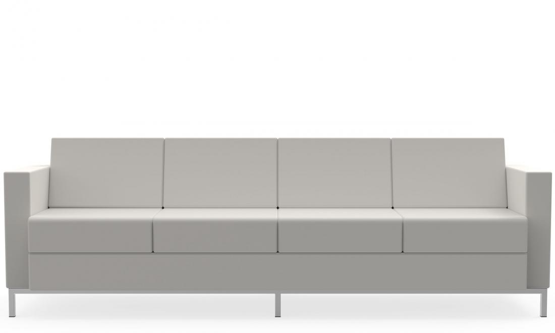 global citi square 4 seat leather sofa s7884