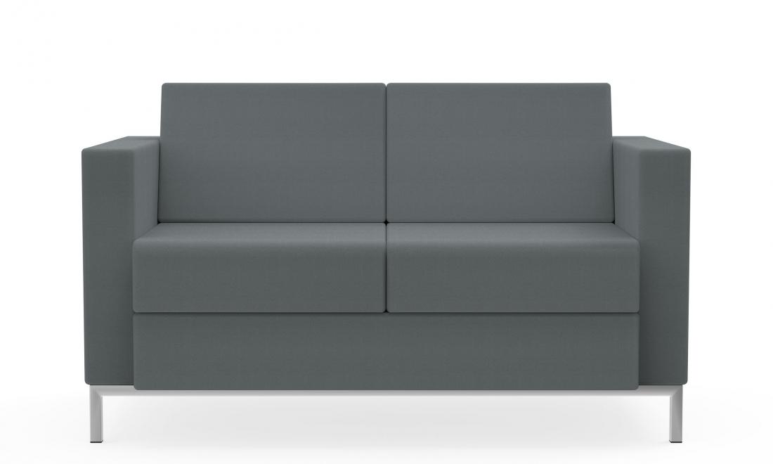 citi square 2 seat fabric sofa