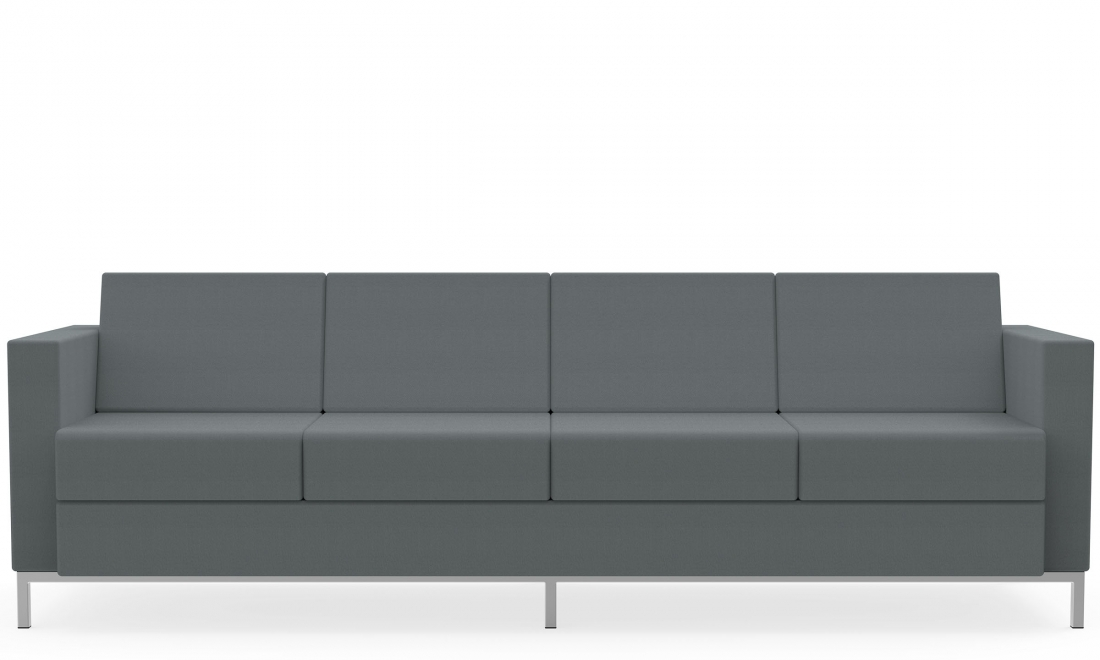 global citi square model s7884f 4 seat fabric sofa