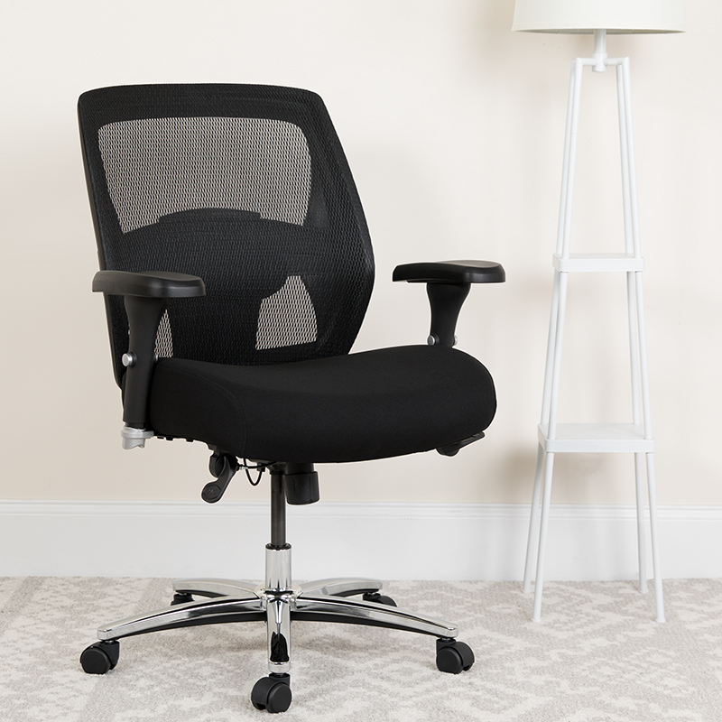 mesh back big and tall chair