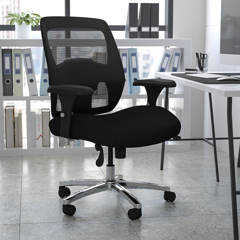 Flash Furniture 500 Pound Capacity Big and Tall Mesh Chair