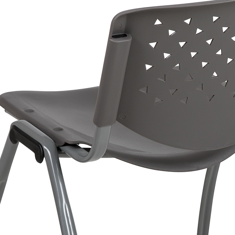 gray multi purpose chair back