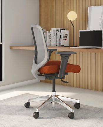 diem chair with 4d arms