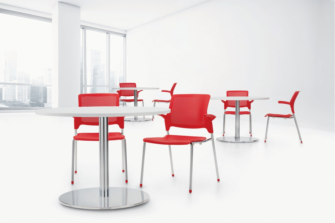 global stream multi purpose break room chairs