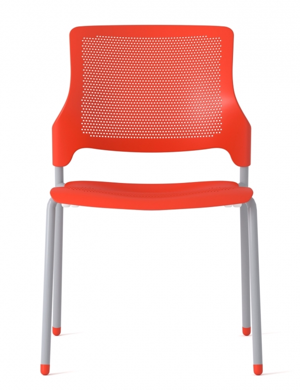 stream armless stack chair