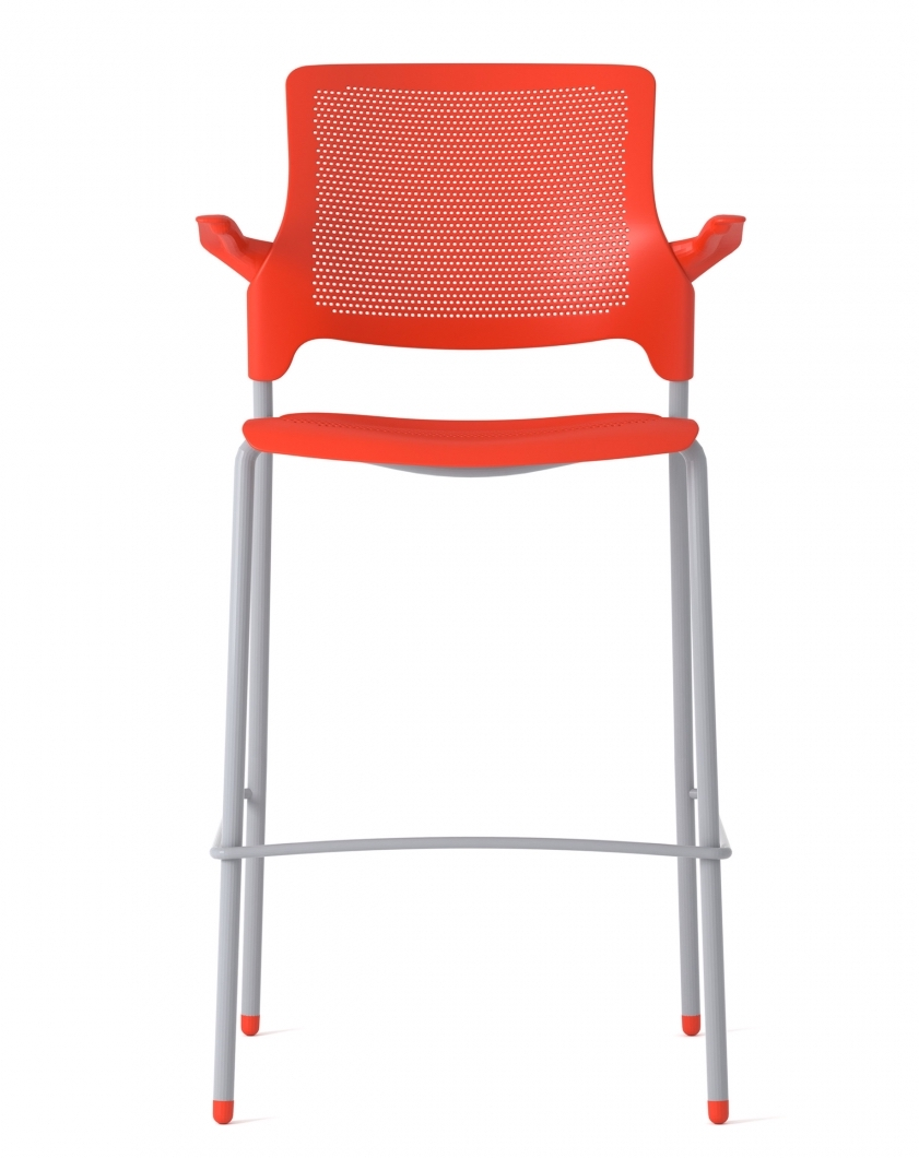 global stream bar stool with arms