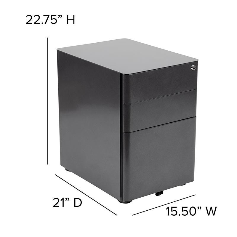 flash furniture file cabinet dimensions