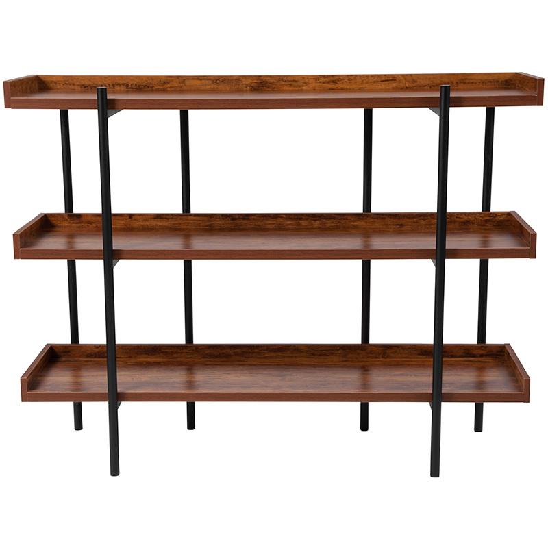 mayfair 3 shelf bookcase