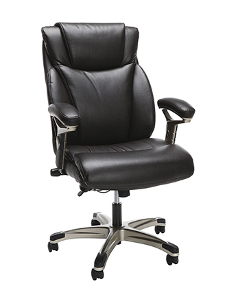 ofm executive chair in brown