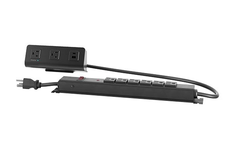 flexcharge4cx black module with black power strip