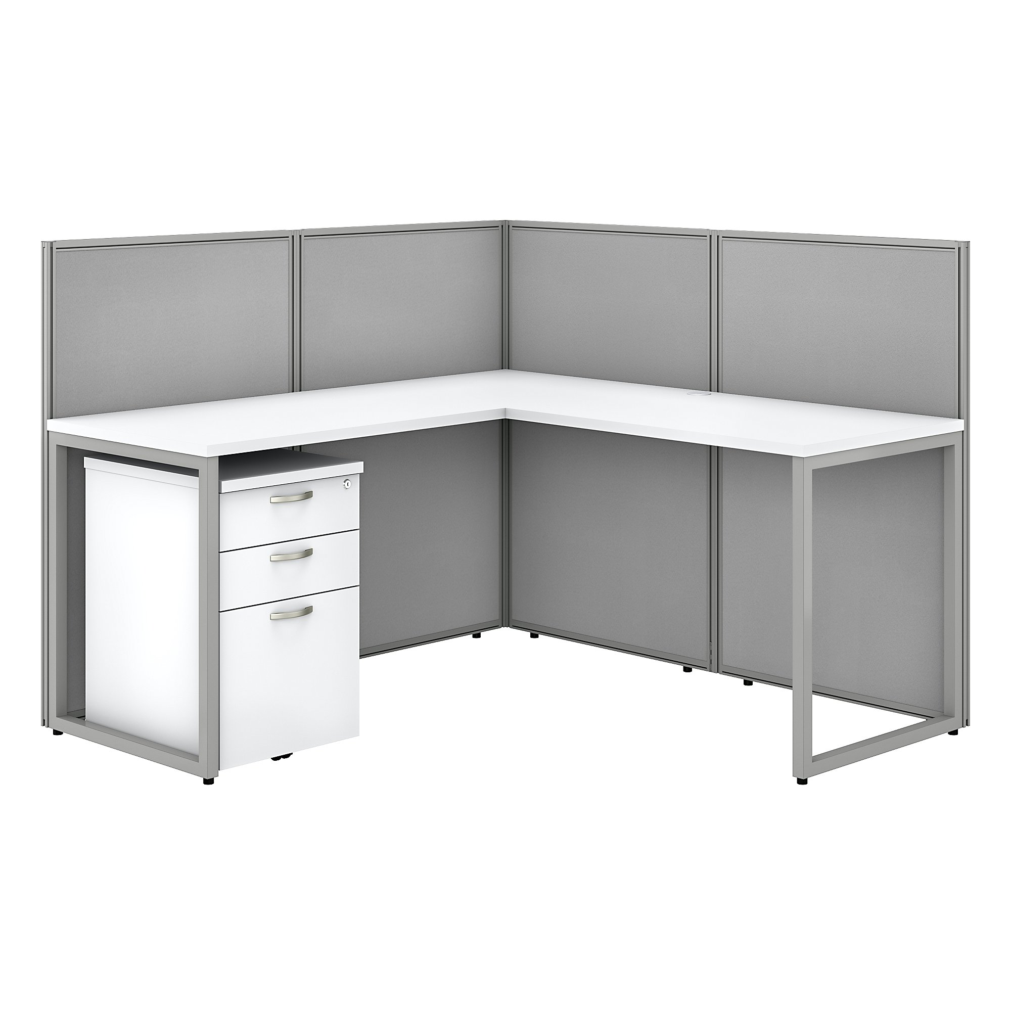 bbf easy office l shaped cubicle