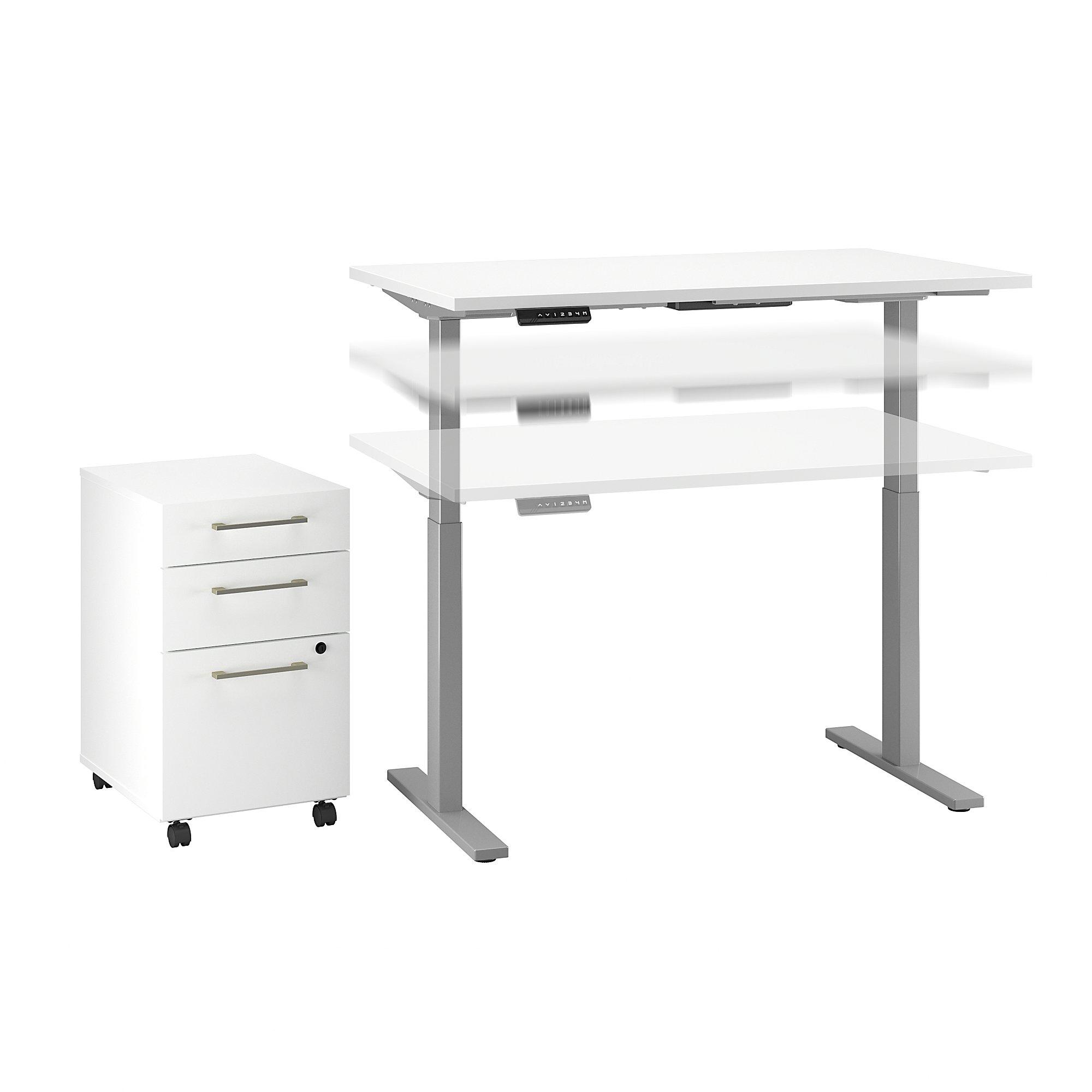 ergonomic move 60 desk set