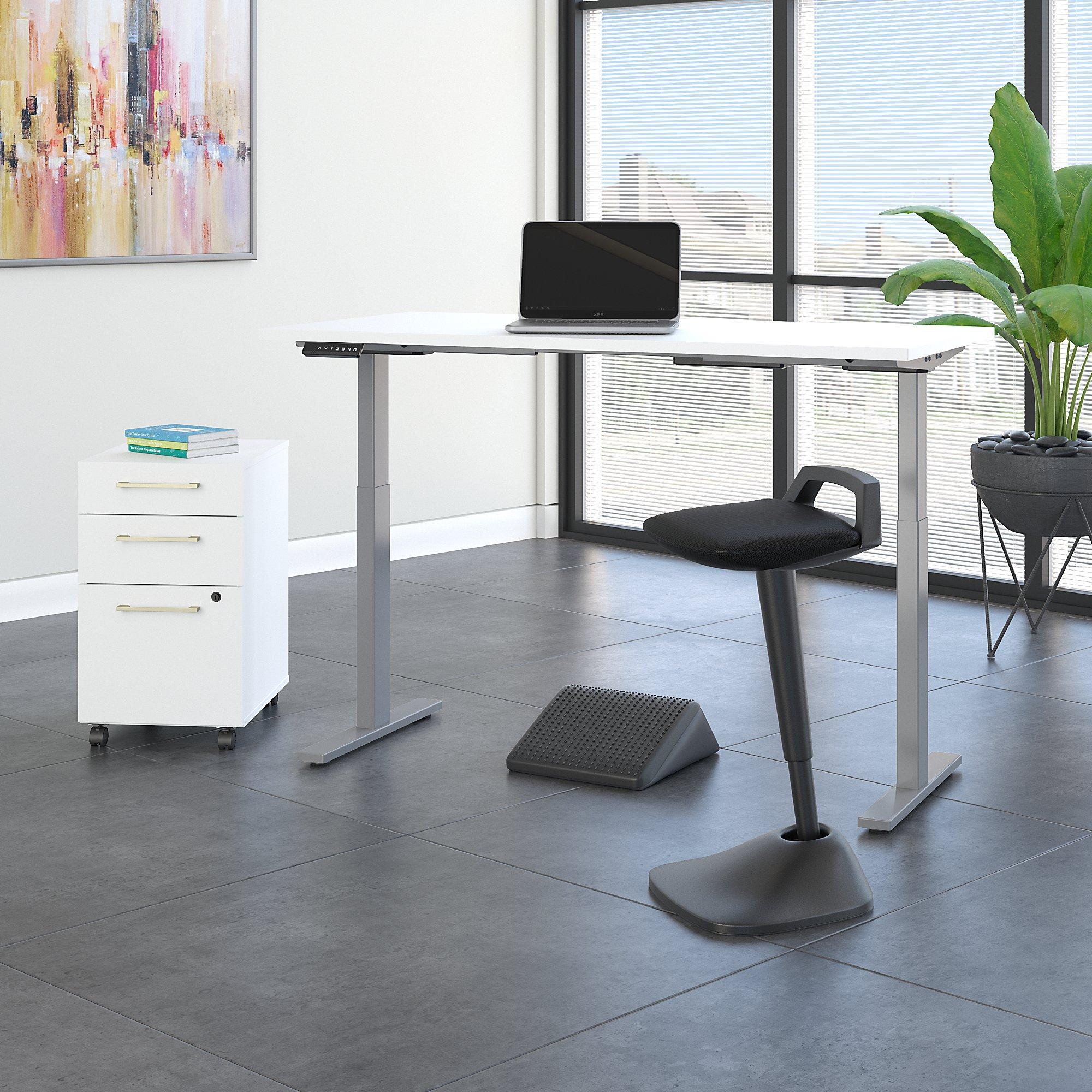 white ergonomic furniture set
