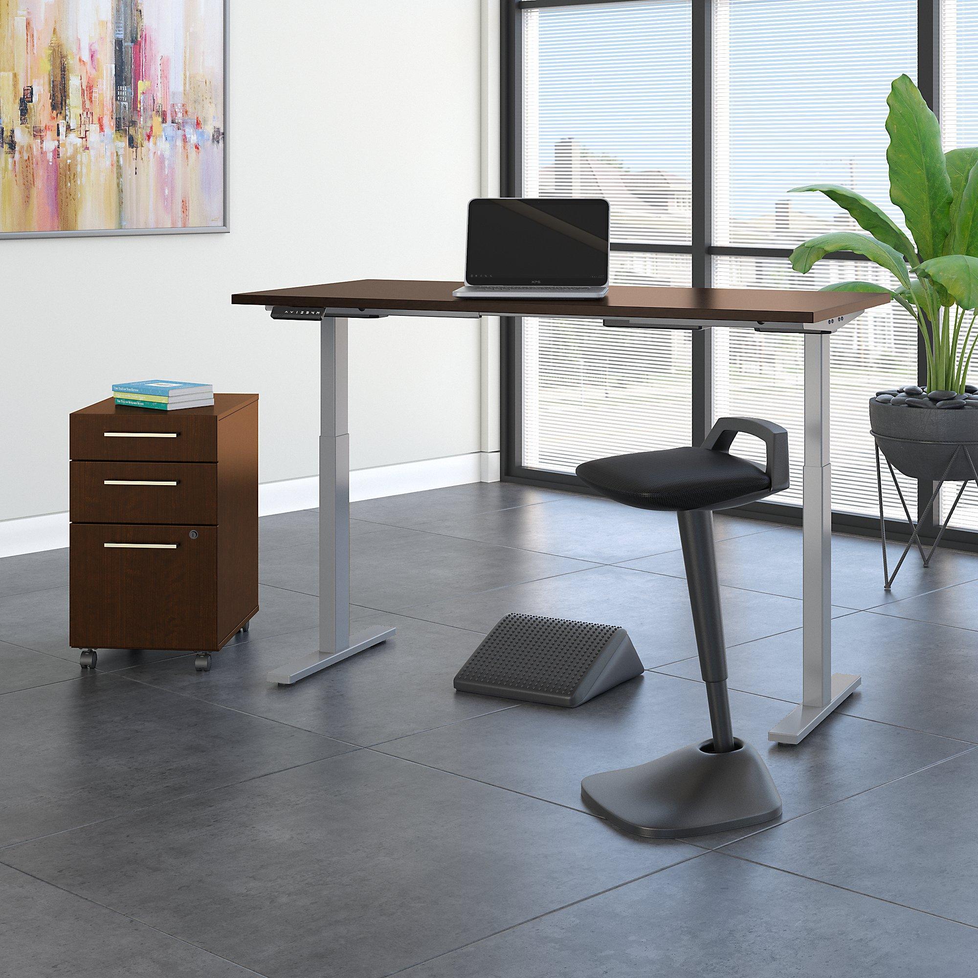 mocha cherry ergonomic furniture set