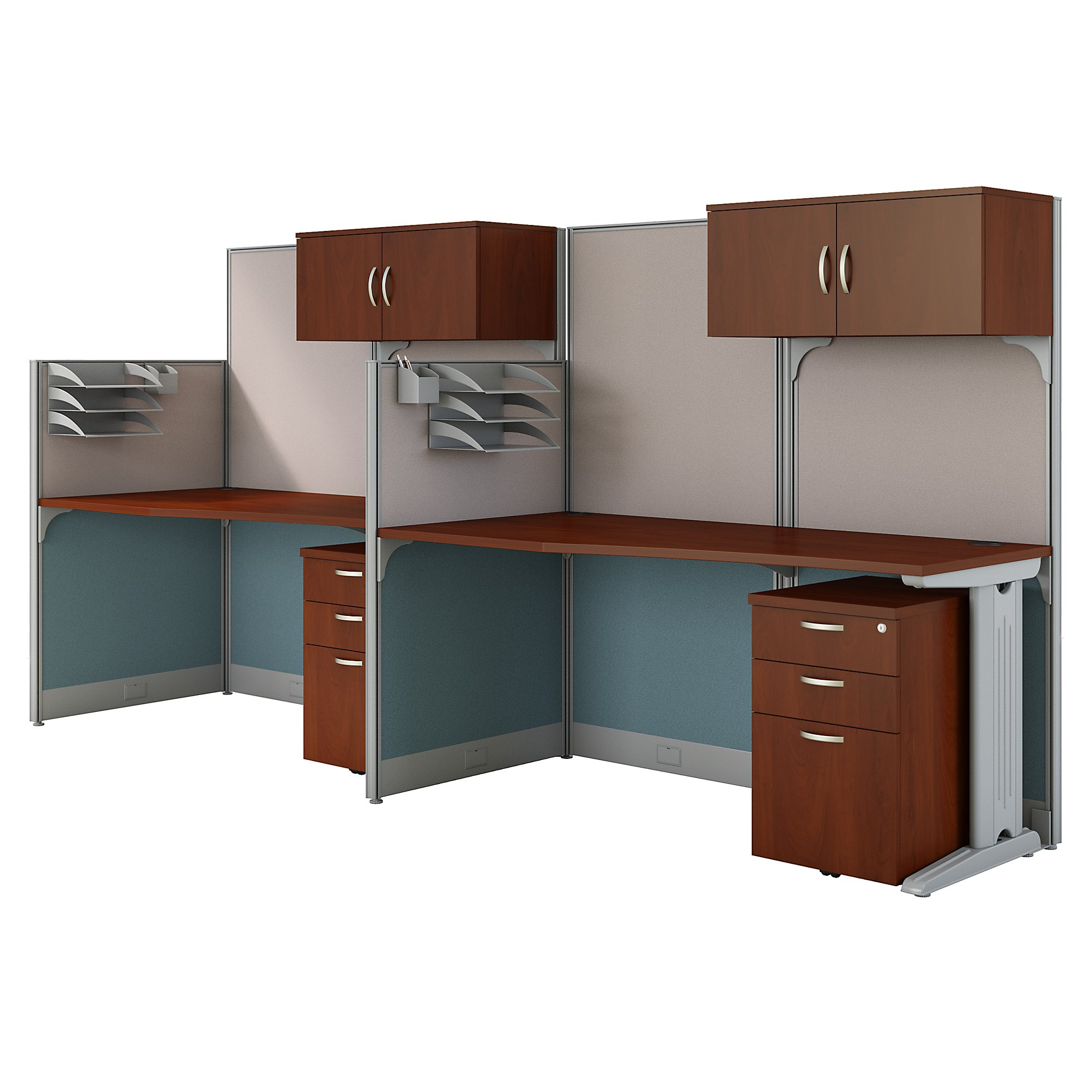 2 person modular workstation