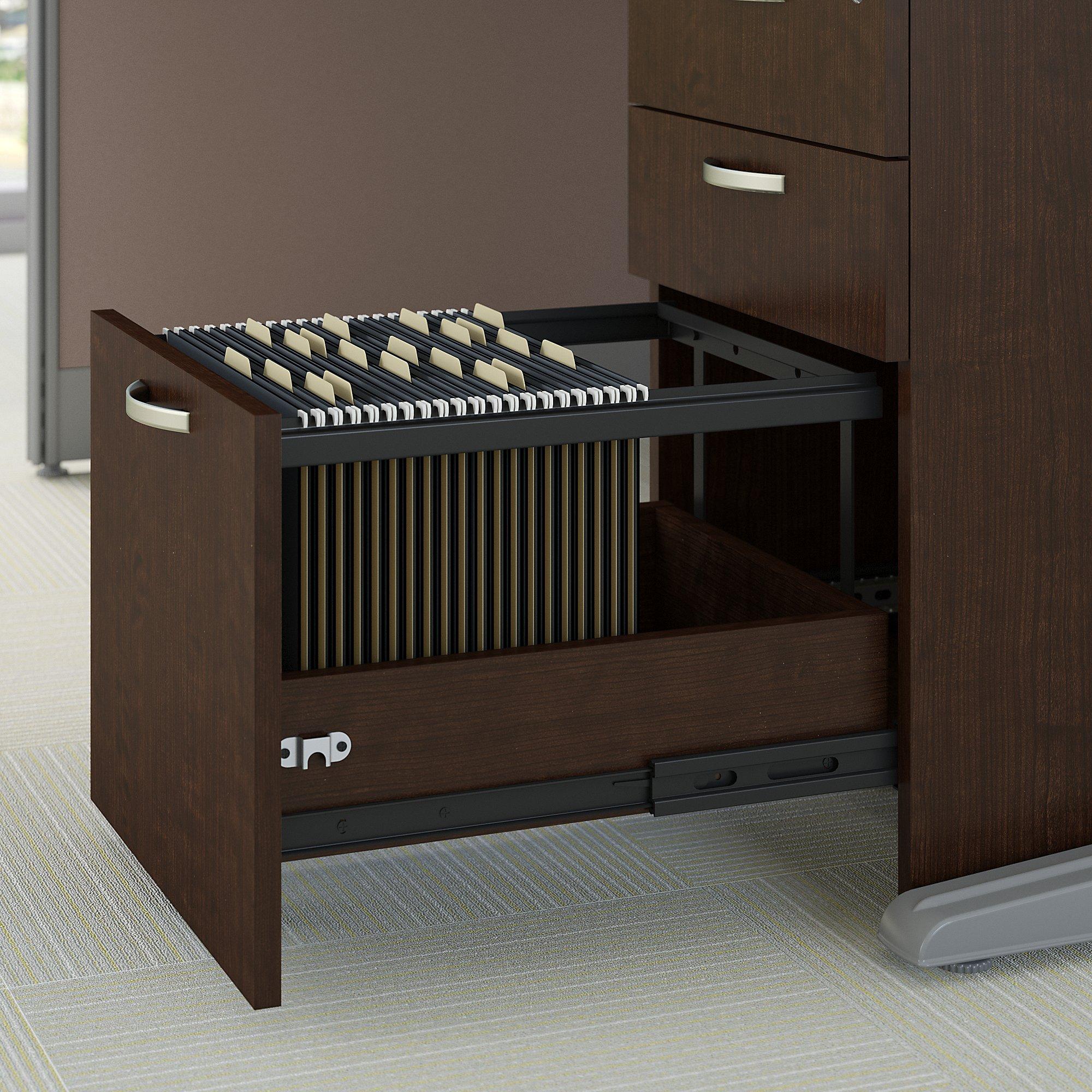 mocha cherry file drawer