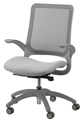Eurotech Seating Hawk Series Office Chair in Gray