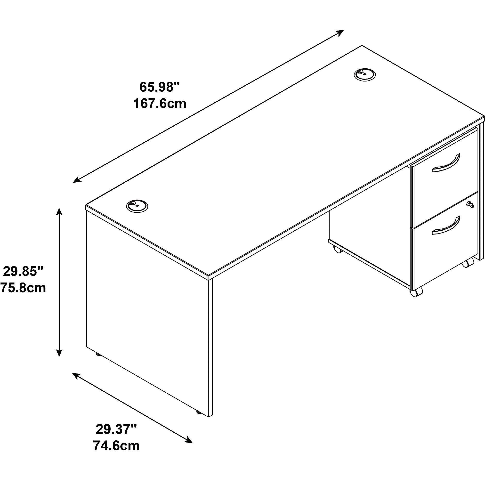 series c src028 desk dimensions