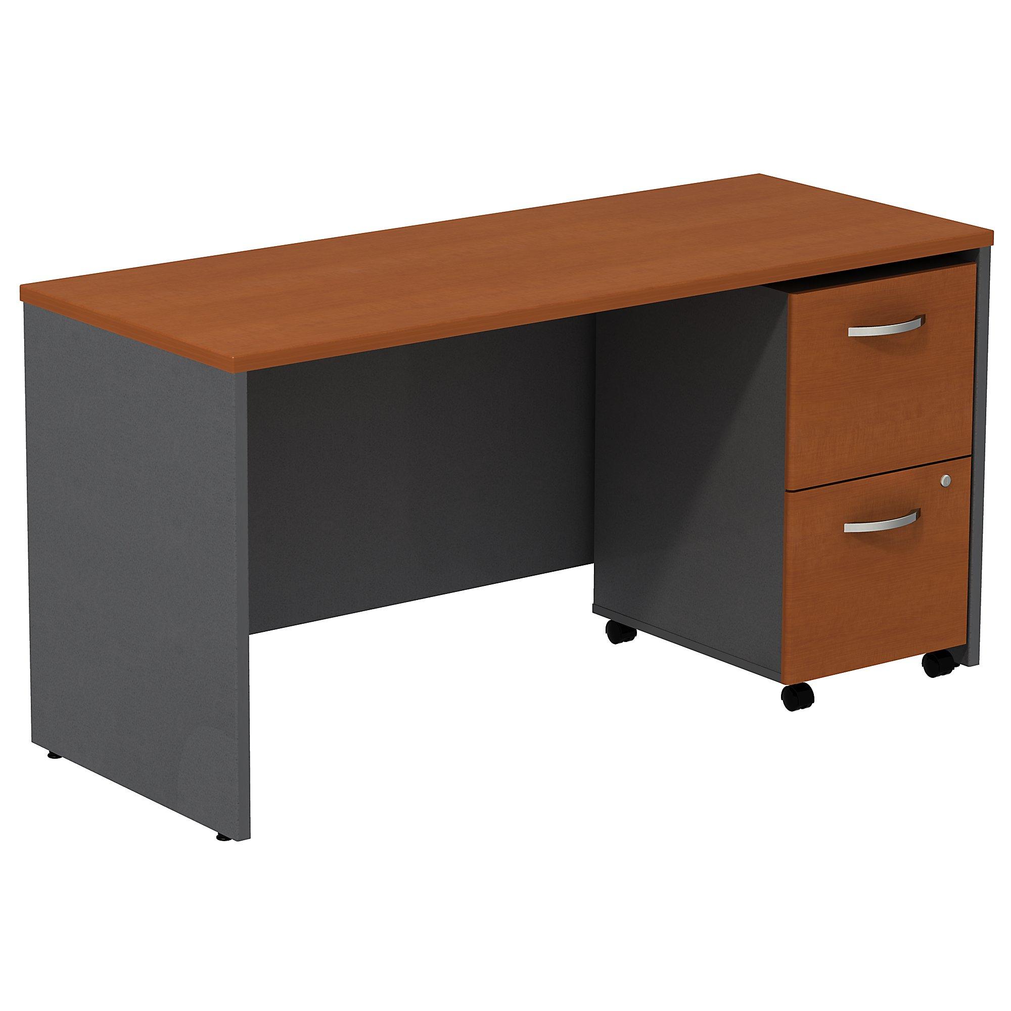 """auburn maple series c 60"""" credenza desk"""