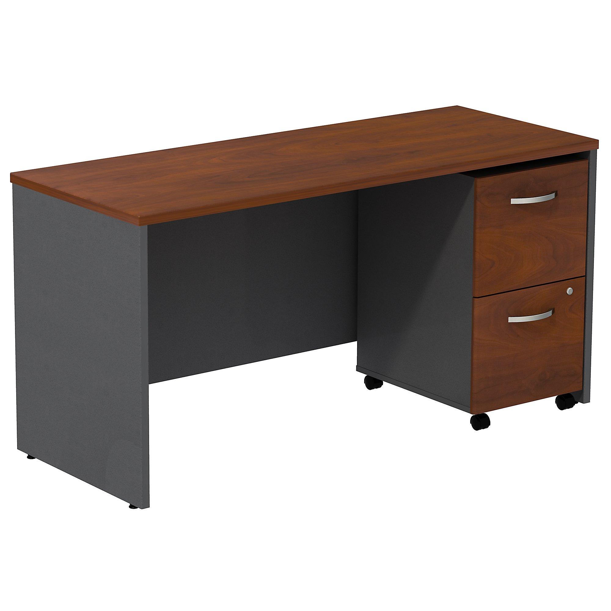 """hansen cherry series c 60"""" credenza desk"""