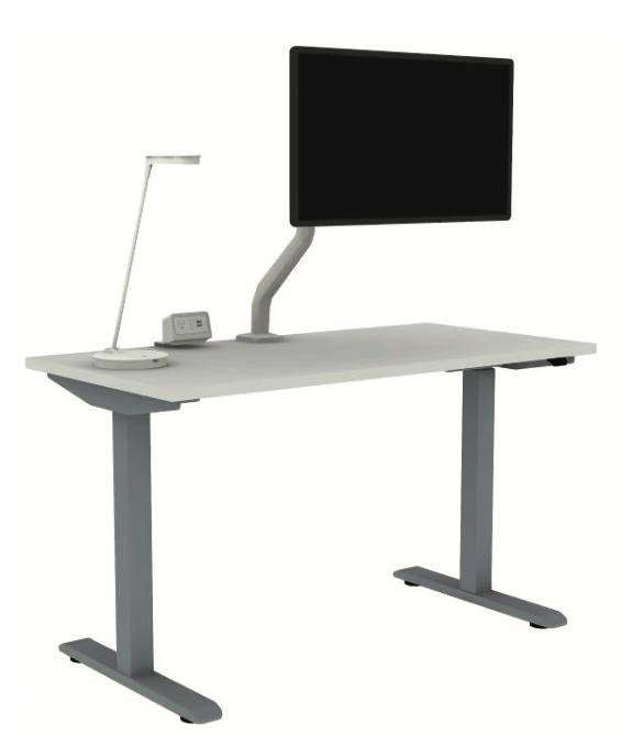esi complete ergonomic furniture set