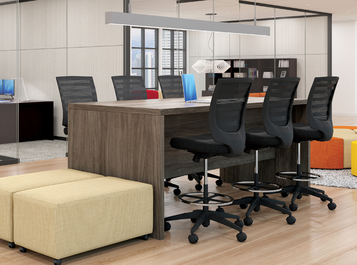 standing collaboration table