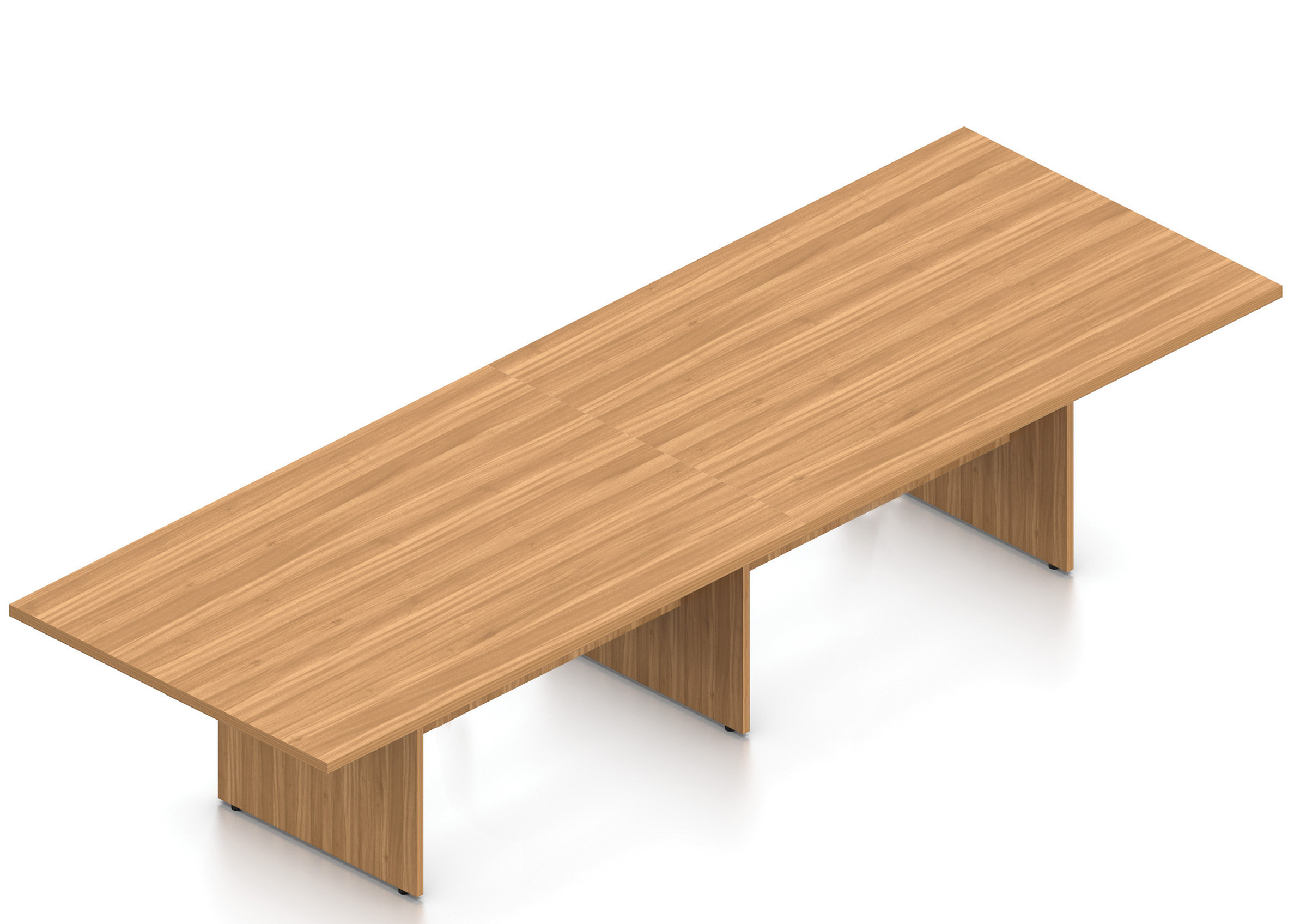 walnut 12' superior laminate rectangular conference table