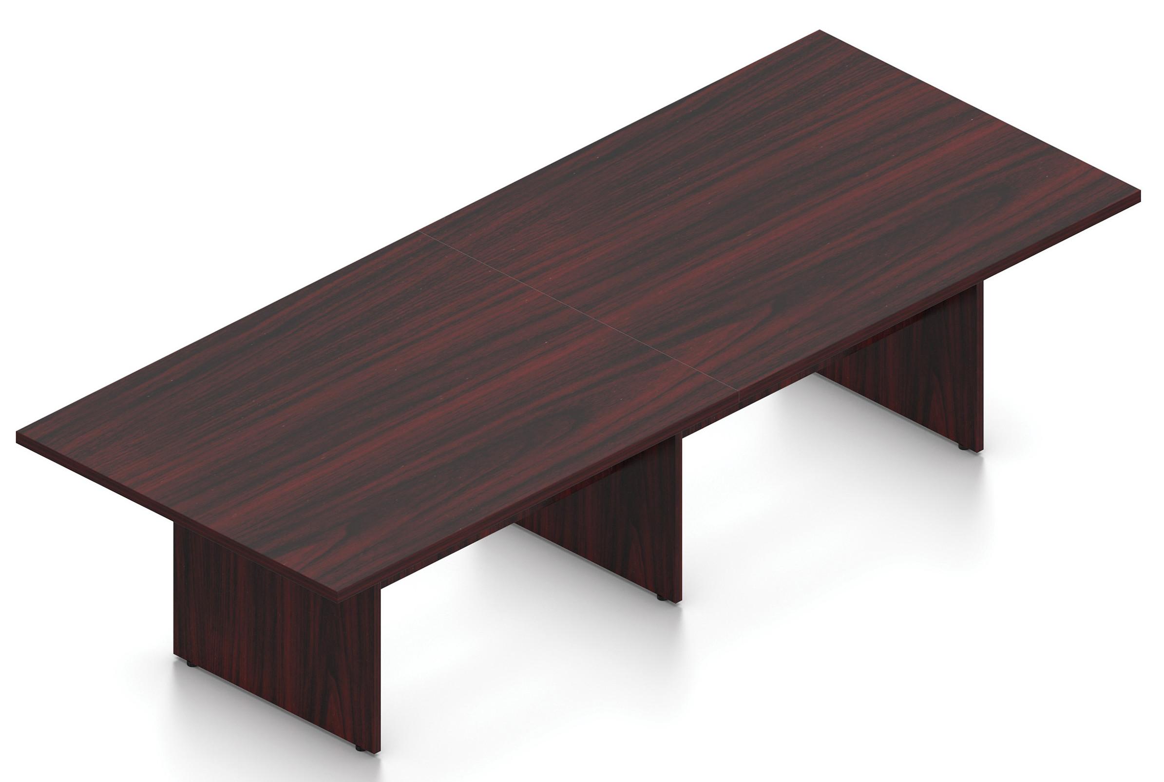 mahogany 10' superior laminate rectangular conference table