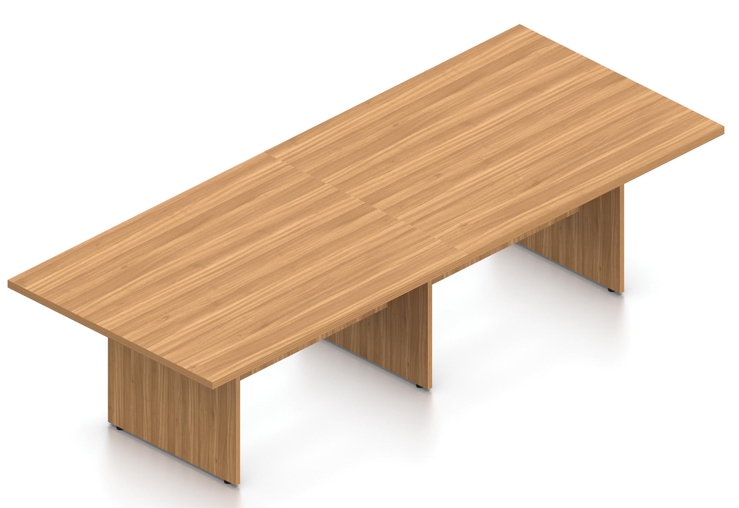 autumn walnut 10' superior laminate rectangular conference table