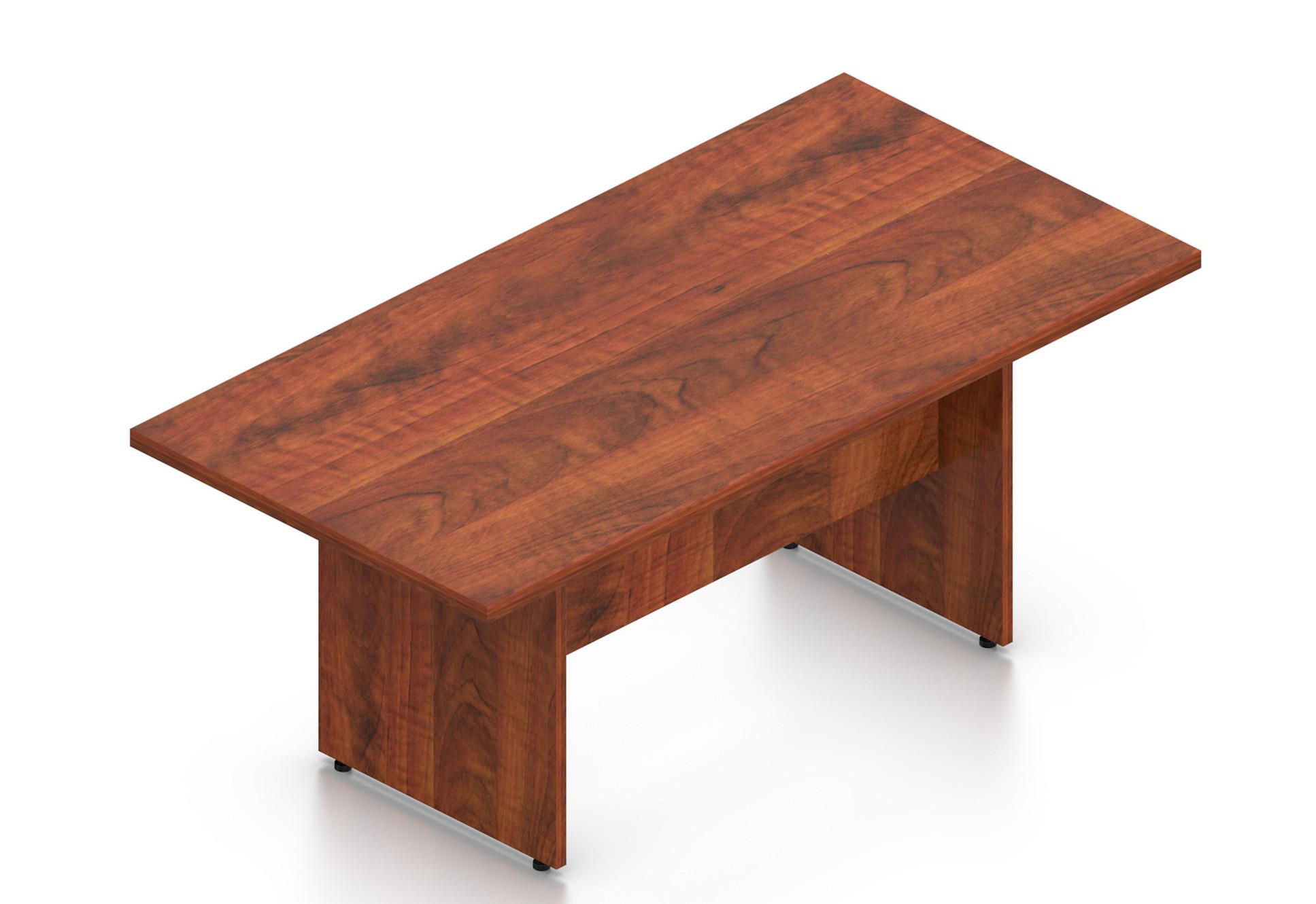 "dark cherry 71"" superior laminate rectangular conference table by otg"