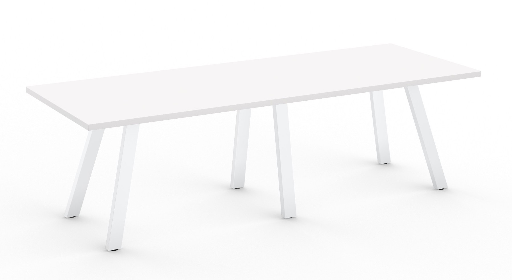 designer white aim xl collection conference room table