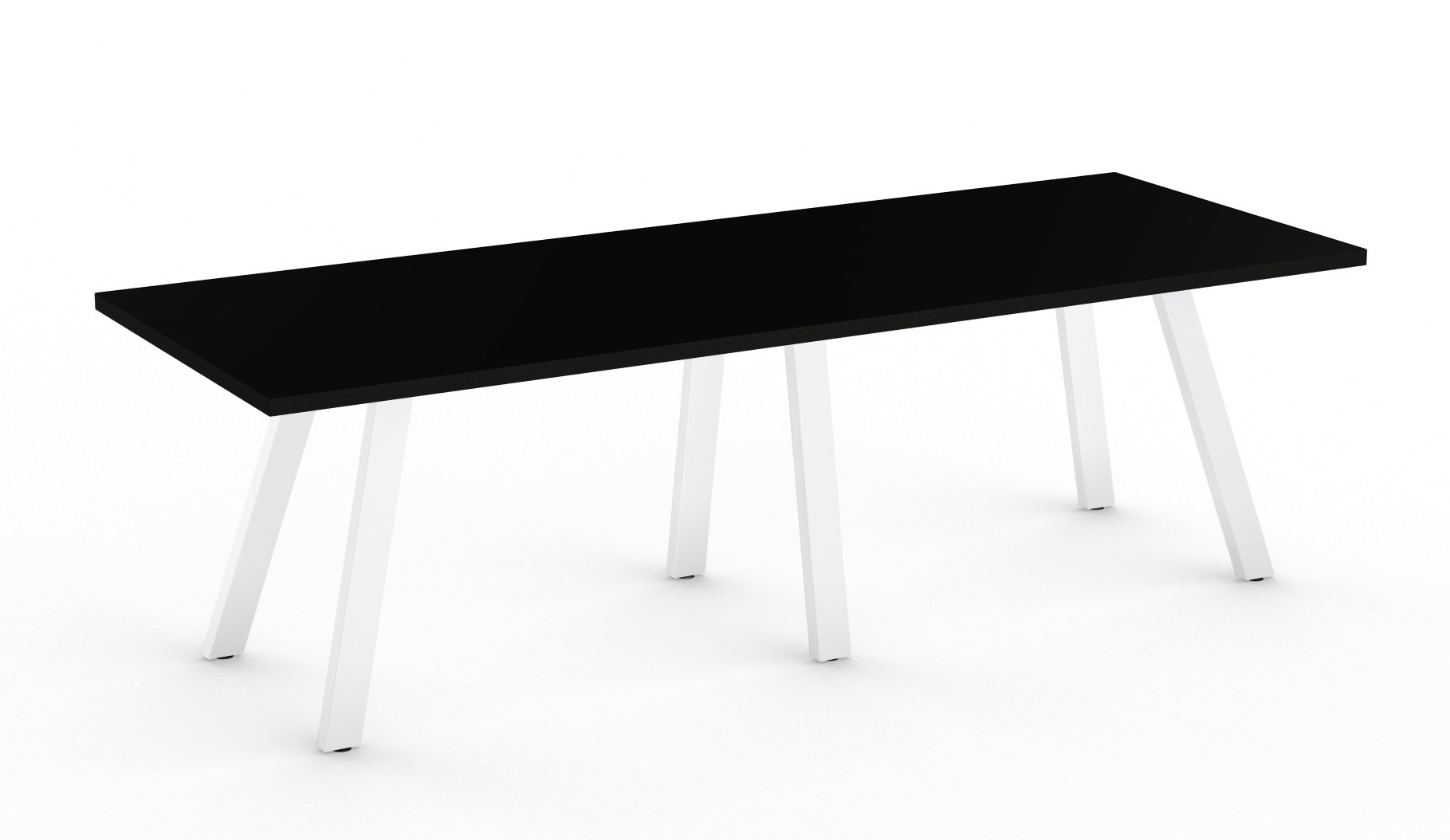 black aim xl collection conference room table