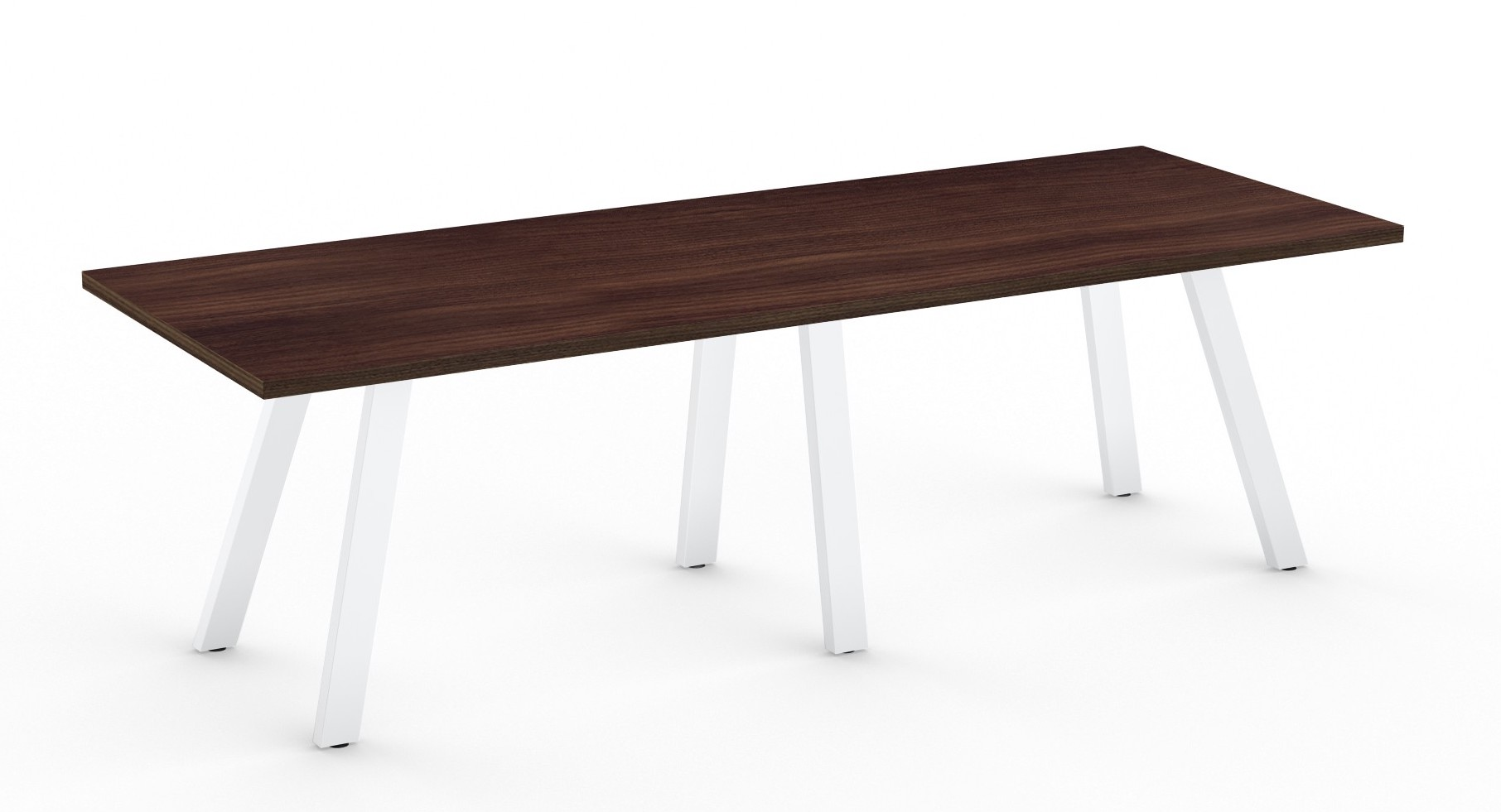 columbian walnut aim xl collection conference room table