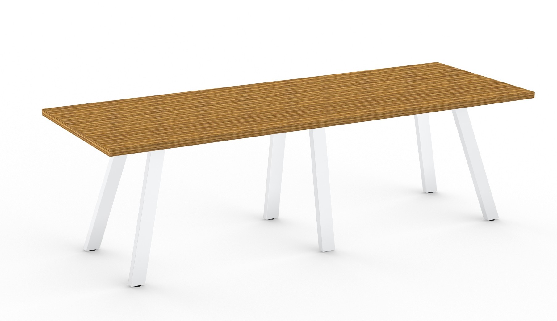 zebrawood aim xl collection conference room table