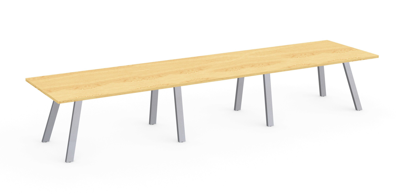 kensington maple aim xl boardroom table